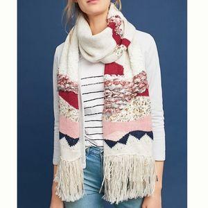 Hello Hydrangea Sequined Blanket Scarf